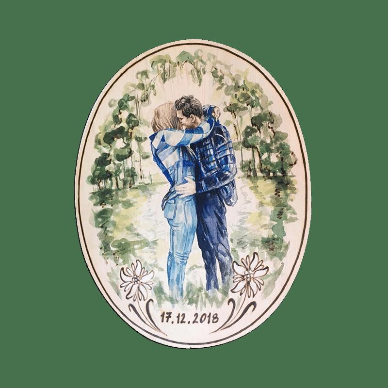 Feurig schenken zum Jahrestag / Hochzeitstag / Hochzeitsjubiläum - Mit Brandmalerei Geschenke